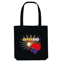 Tote-Bag SuperBad badminton...