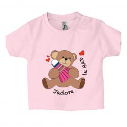T-shirt J'adore le Bad...