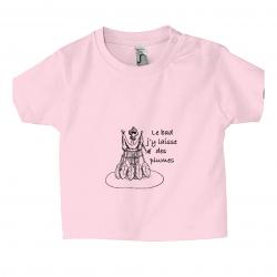 T-Shirt Le Bad J'y Laisse...