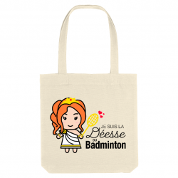 déesse du badminton trop mignonne