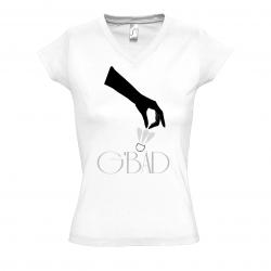 T-Shirt G'Bad badminton Be-Bad