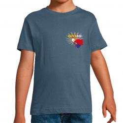 T-Shirt SuperBad badminton...