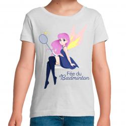 T-Shirt Fée du Badminton...