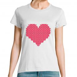 T-Shirt Cœur Volant Be-Bad