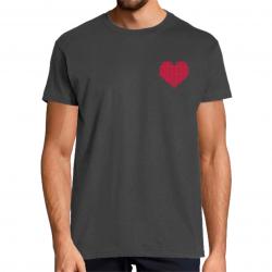 T-Shirt Cœur Volant...