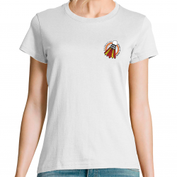 T-shirt badminton made in made in Spain Tokyo 2021 femme